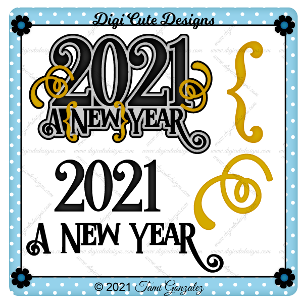 2021 Title Clip Art