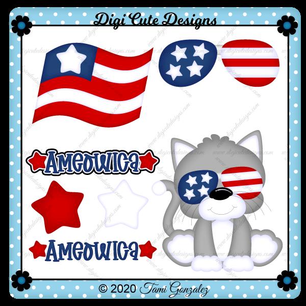Ameowica Clip Art