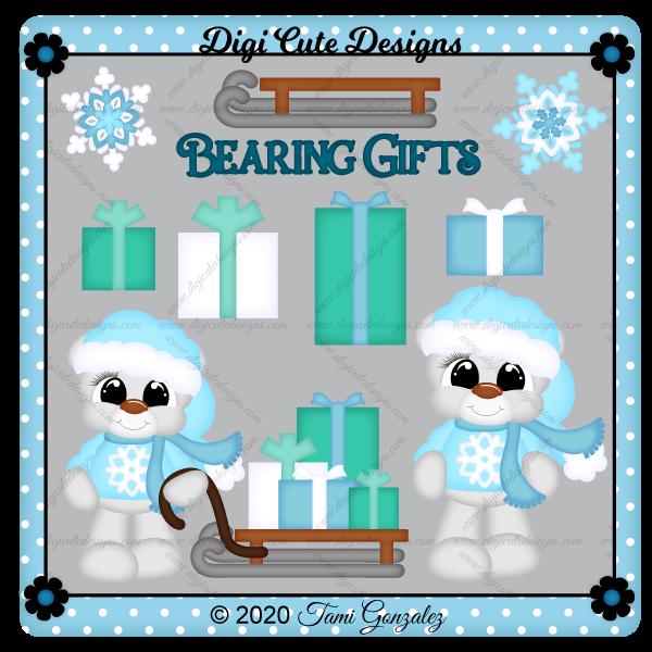 Bearing Gifts Clip Art