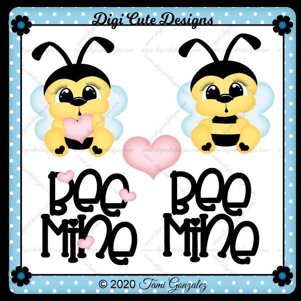 Bee Mine Clip Art
