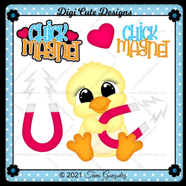 Chick Magnet Clip Art