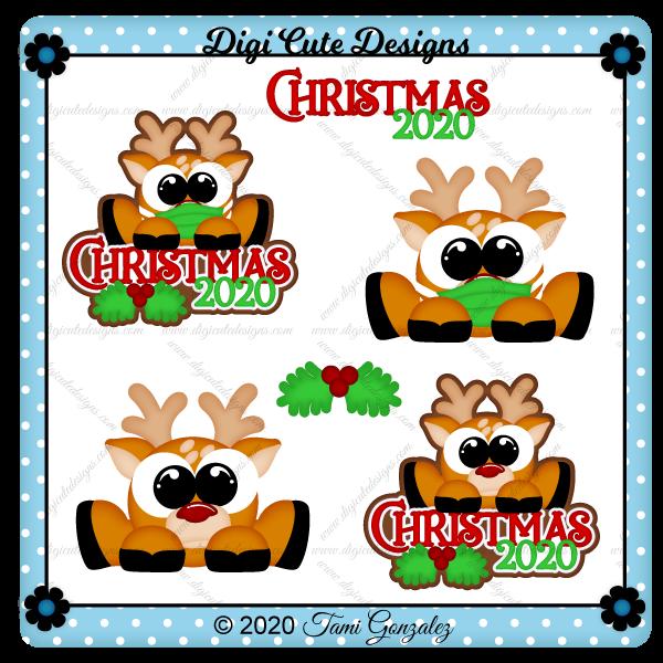 Christmas 2020 Title Clip Art