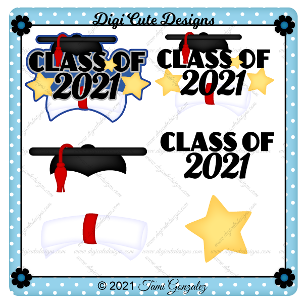 Class of 2021 Title Clip Art