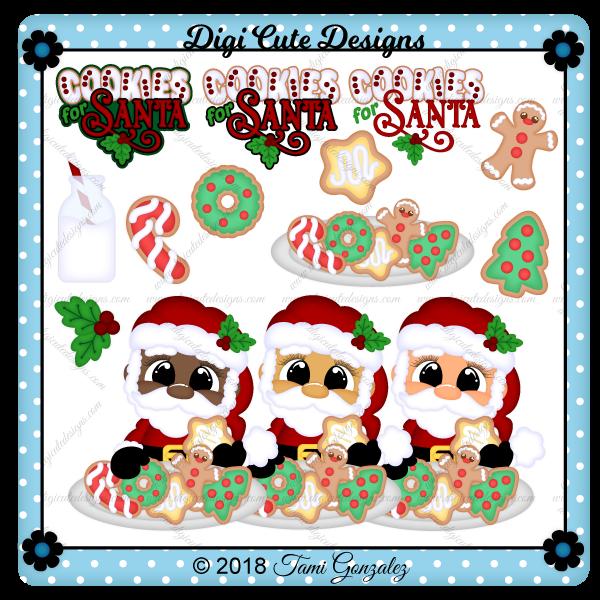 Cookies for Santa Clip Art