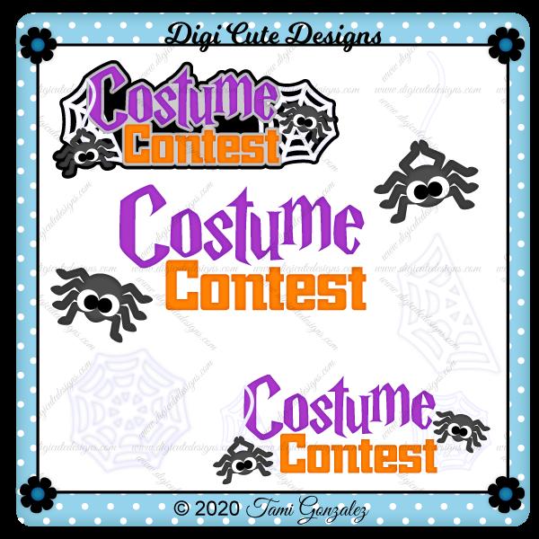 Costume Contest Title Clip Art