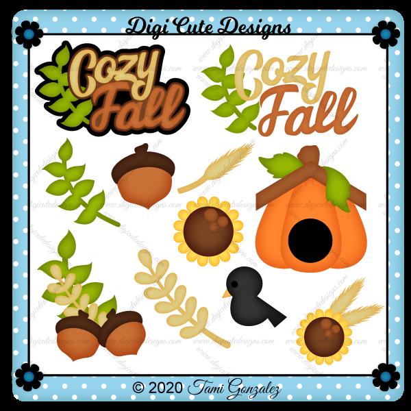Cozy Fall Clip Art