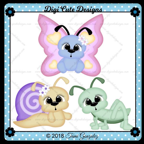 CuddleBugs Clip Art