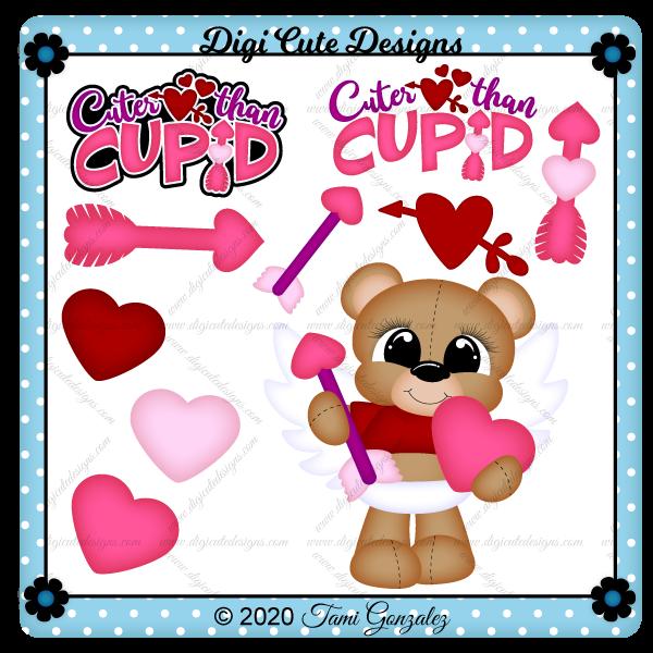 Cuter Than Cupid Clip Art