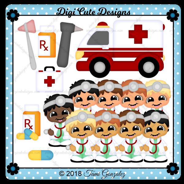 Doctor Cutie Clip Art