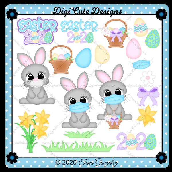 Easter 2020 Clip Art