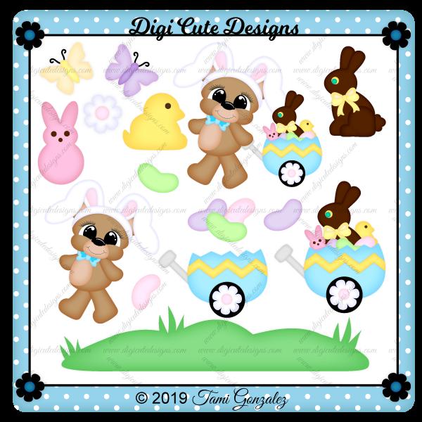 Easter Bear Clip Art