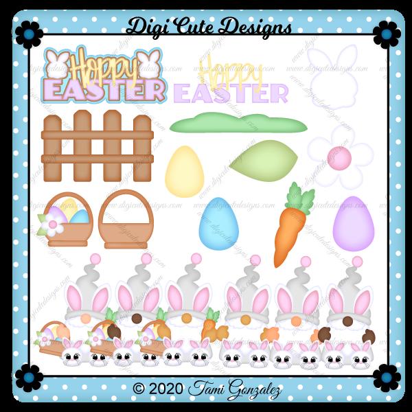 Easter Gnome Clip Art
