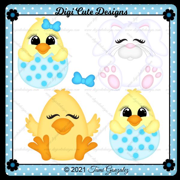 Egg Pals Clip Art