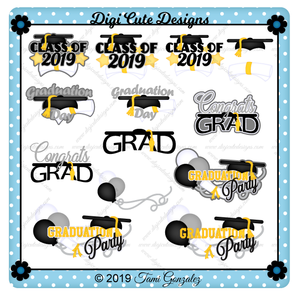 Graduation Title Clip Art