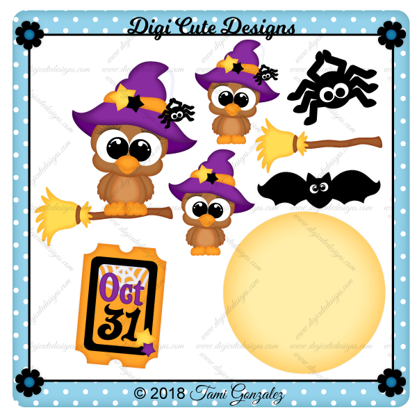 Halloween Owl Clip Art
