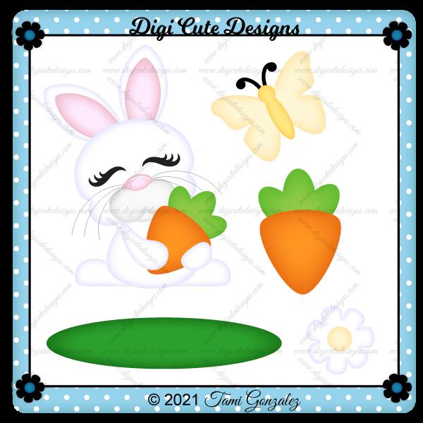 Happy Bunny Clip Art