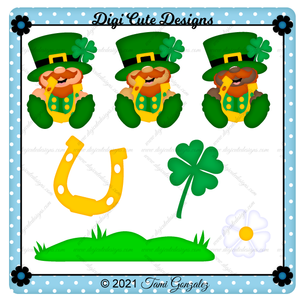 Happy Leprechaun Clip Art
