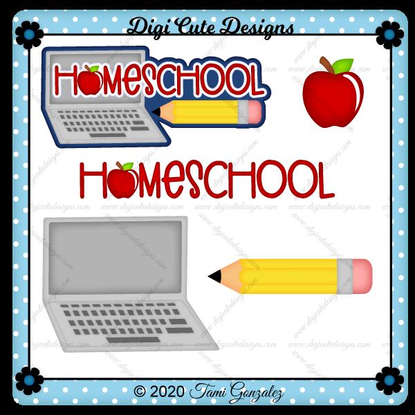 Homeschool Title Clip Art