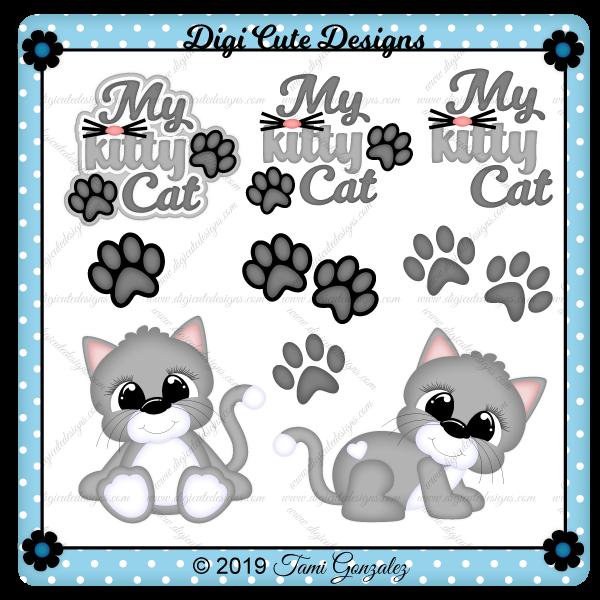 My Kitty Cat Clip Art