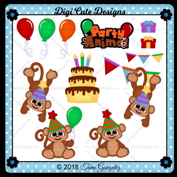 Party Animal Clip Art