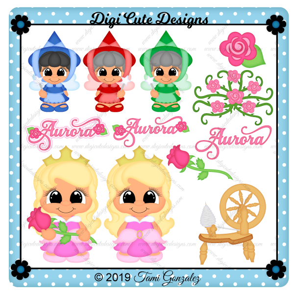 Princess Aurora Clip Art