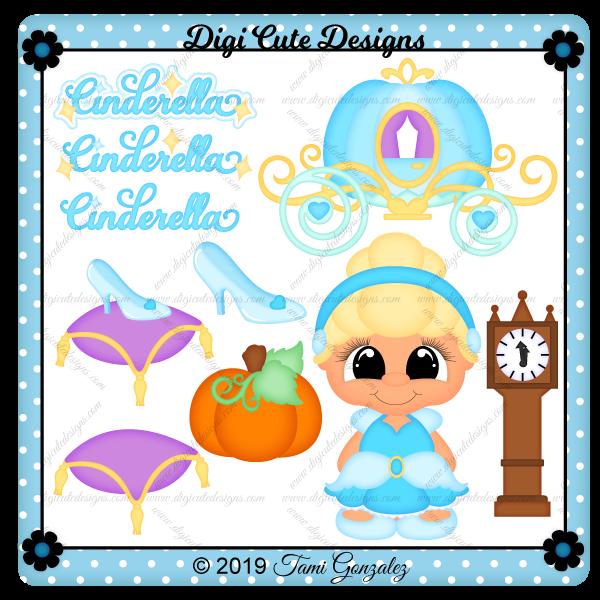 Princess Cinderella Clip Art