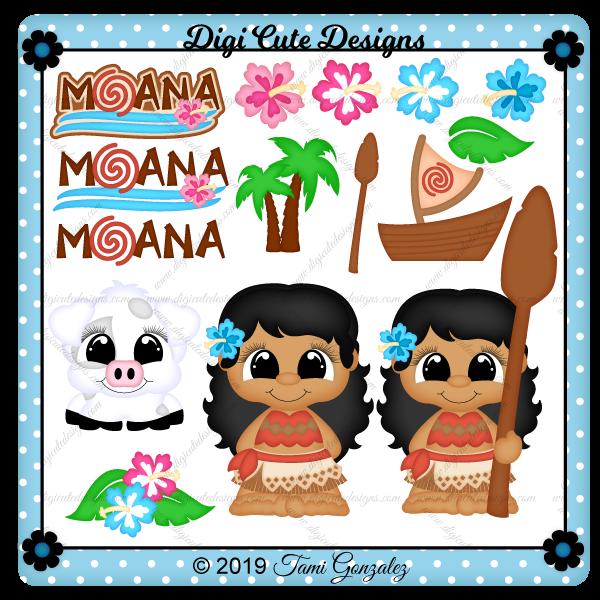 Princess Moana Clip Art