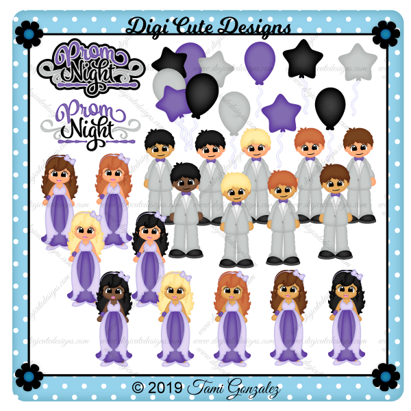 Prom Night Clip Art