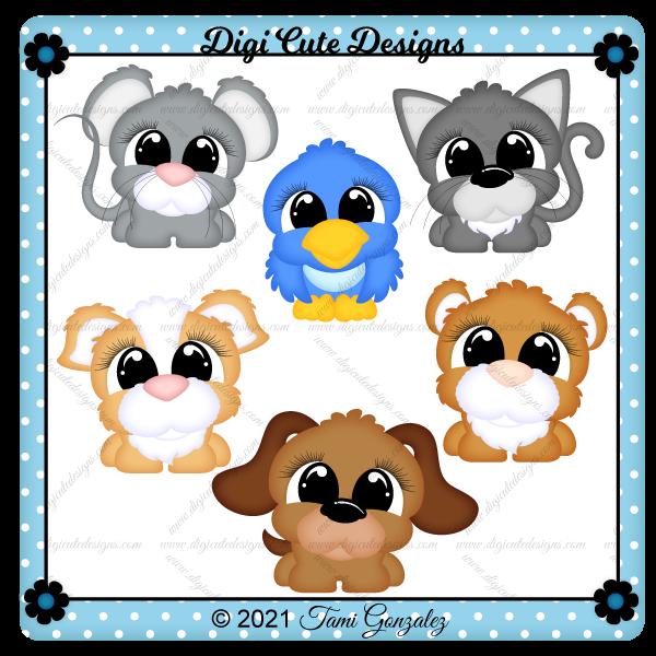 Pudgy Pet Animal Clip Art