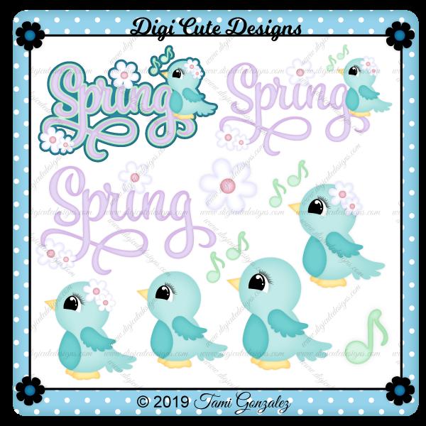Spring Title Clip Art