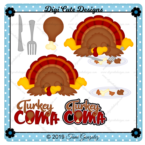 Turkey Coma Clip Art
