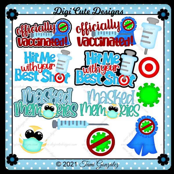 Vaccination Titles Clip Art