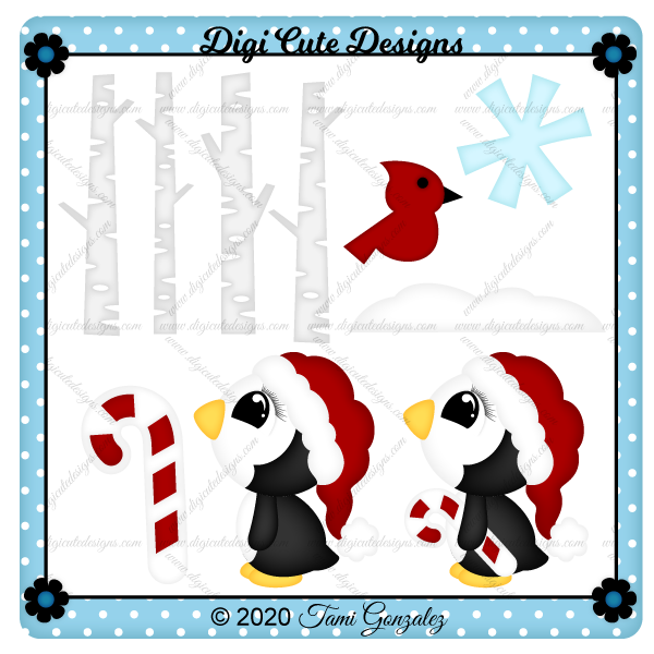 Winter Penguin Clip Art