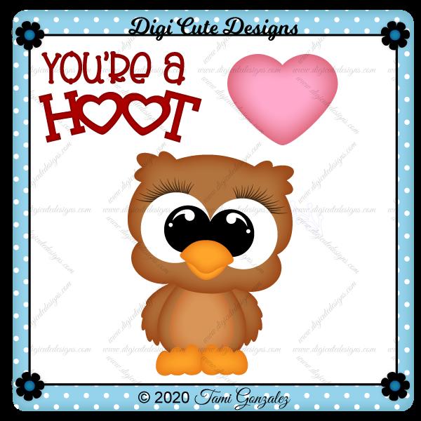You're A Hoot Clip Art