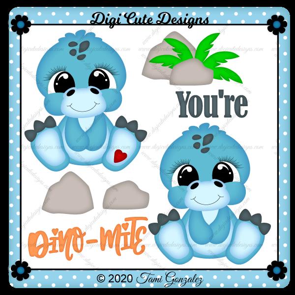 You're Dino-Mite Clip Art