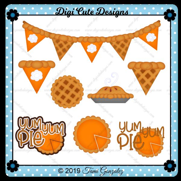 Yum Yum Pie Clip Art
