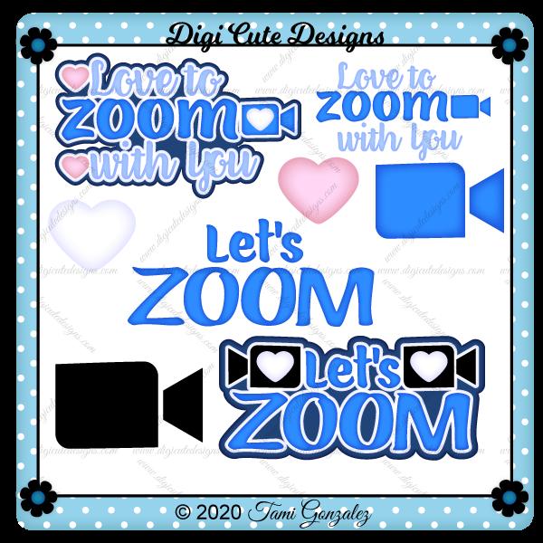 Zoom Titles Clip Art