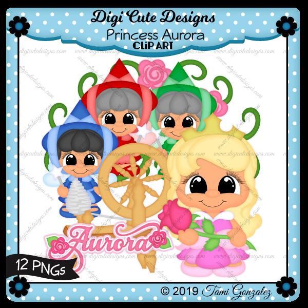 Princess Aurora Clip Art-disney, princess, rose, briar patch, spinning wheel, fairy godmother, wand
