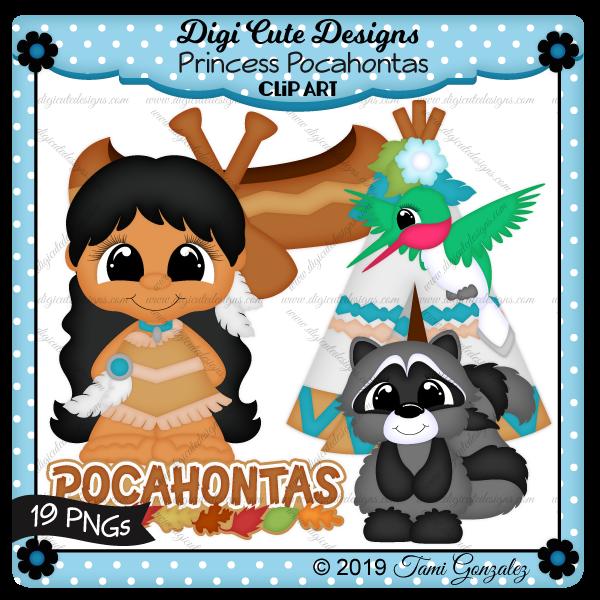 Princess Pocahontas Clip Art-disney, princess, leaves, leaf, teepee, humming bird, raccoon, feather, flower, canoe, paddles, oars