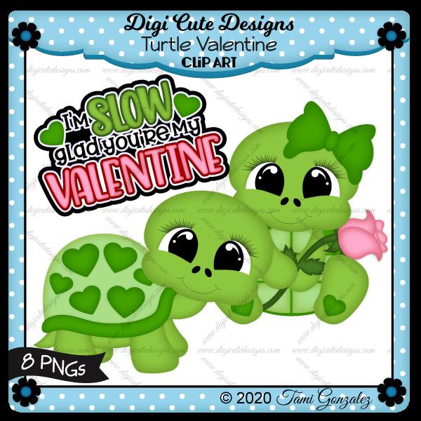 Turtle Valentine Clip Art-Valentines day, love, heart, rose, flower, bow